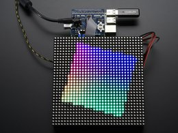 Adafruit rgb matrix hat number 1