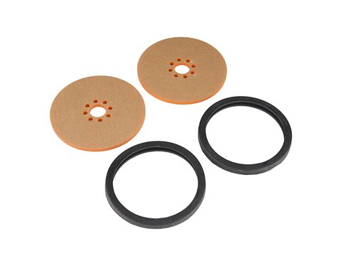 "Precision Disc Wheel - 3"" (Orange, 2 Pack)"