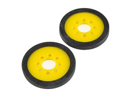 """Precision Disc Wheel - 2"""" (Yellow, 2 Pack)"""