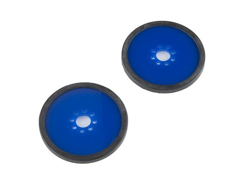 "Precision Disc Wheel - 3"" (Blue, 2 Packs)"