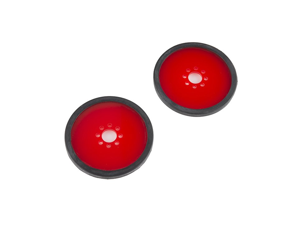 Precision disc wheel 3 red 2 pack 9661219839