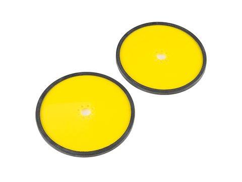 """Precision Disc Wheel - 5"""" (Yellow, 2 Pack)"""
