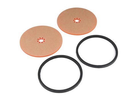 """Precision Disc Wheel - 5"""" (Clear Pink, 2 Pack)"""