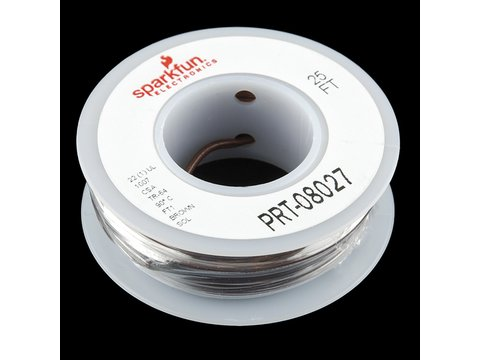 Sparkfun Hook-up Wire - Brown (22 AWG)