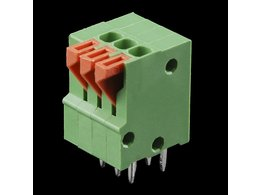 Spring Terminals - PCB Mount (3-Pin)