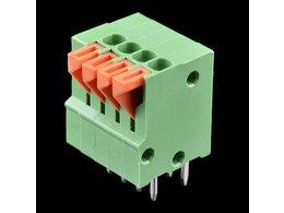 Spring Terminals - PCB Mount (4-Pin)