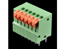 Spring Terminals - PCB Mount (6-Pin)