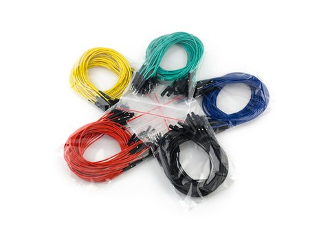 "Jumper Wires Premium 12"" Male to Female Pack of 100"