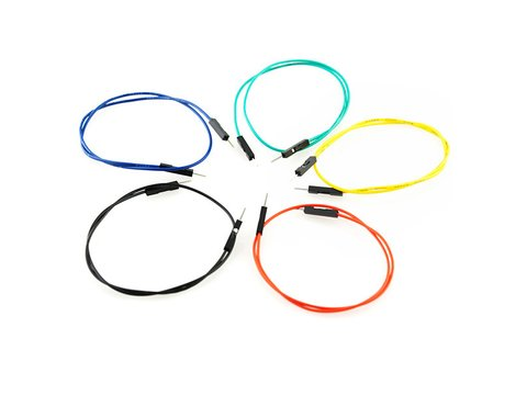 "Jumper Wires Premium 12"" Male to Male Pack of 10"