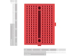 Breadboard mini modular red 2164631116