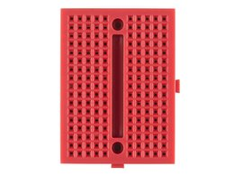 Breadboard mini modular red 3389583189
