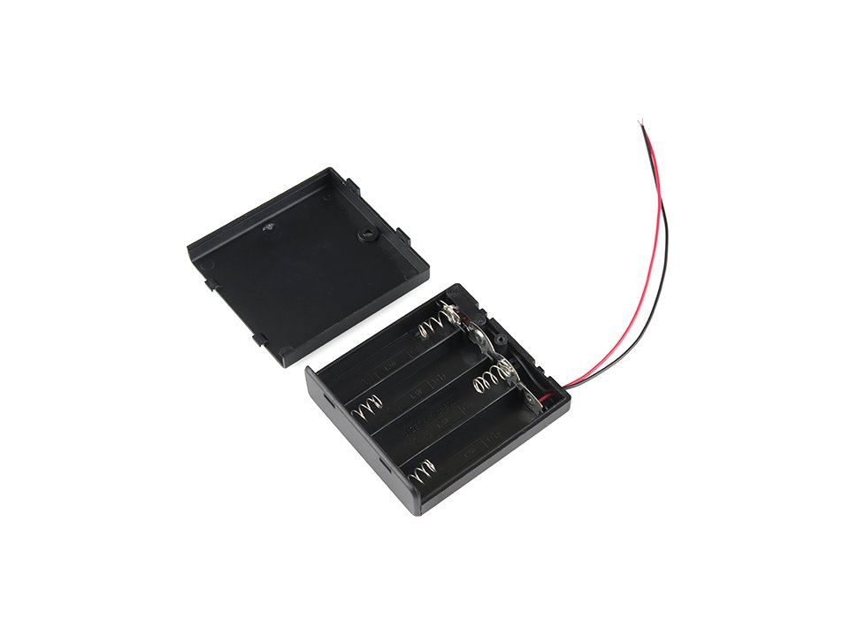 Battery holder 4xaa with cover and switc 1992448422