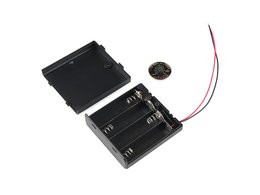 Battery holder 4xaa with cover and switc 2426907963