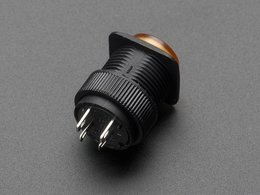 16mm yellow momentary led pushbutton 4