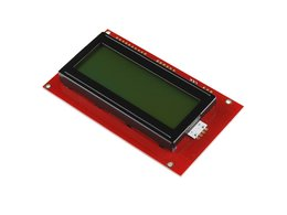 Serial enabled 20x4 lcd black on green 6840558451