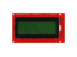 Serial enabled 20x4 lcd black on green 2379584045
