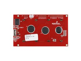 Serial enabled 20x4 lcd black on green 2905679435