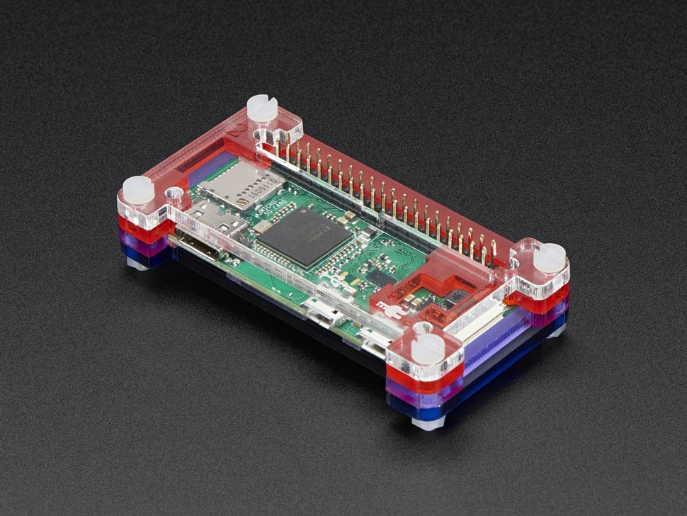 Pibow zero w case for raspberry pi zero 2298842545