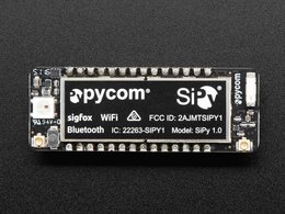 Pycom sipy 1 dot 0 esp32 wifi ble and plus 22 2986738527