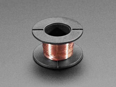 Enameled Copper Magnet Wire – 11 meters / 0.1mm diameter