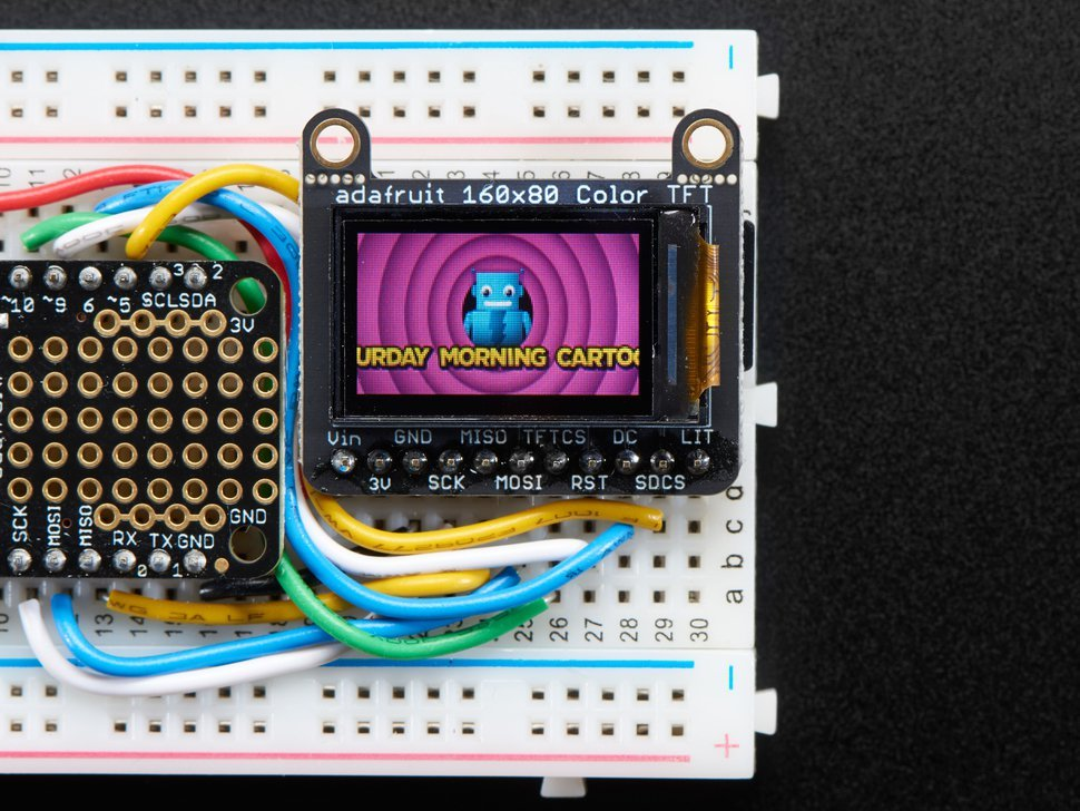 Adafruit 0 dot 96 160x80 color tft display 2502903340