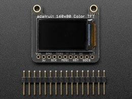 Adafruit 0 dot 96 160x80 color tft display 9954917413