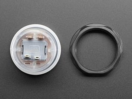 Arcade button with led 30mm translucen 7685989337