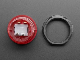 Arcade button with led 30mm translucen 4294804561