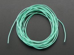 Silicone Cover Stranded-Core Wire - 2m 30AWG Green
