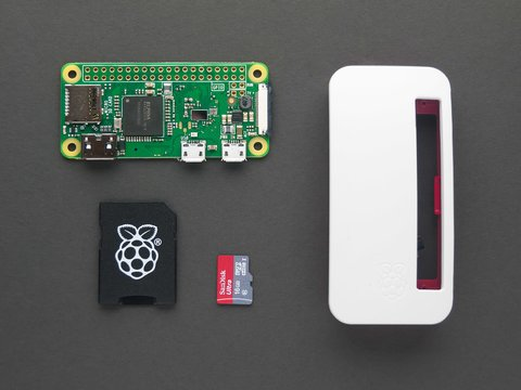 Raspberry Pi Zero W Basic Kit - w/ 16GB NooBs Card