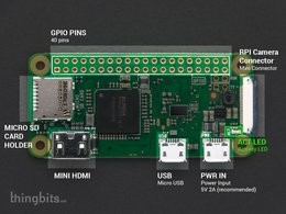 Raspberry pi zero w basic bundle w slash 16 9054020718