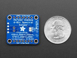 Adafruit as7262 6 channel visible light 5495368155