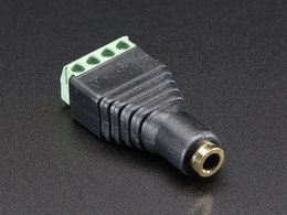 3.5mm 4-Pole (TRRS) Audio Jack Terminal Block