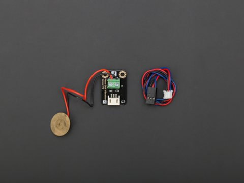 DFRobot Gravity: Digital Piezo Disk Vibration Sensor