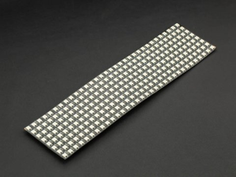 DFRobot Gravity: Flexible 8x32 RGB LED Matrix