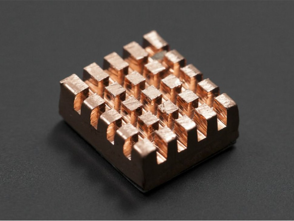 Self adhesive pure copper heatsink 4206293811