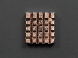 Self adhesive pure copper heatsink 7105012510