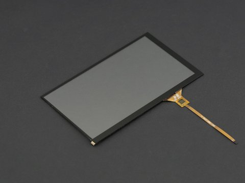 "7"" Capacitive Touch Panel Overlay for LattePanda IPS Display"