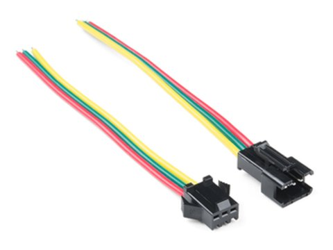LED Strip Pigtail Connector (3-pin)