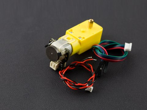 TT Motor with Encoder (6V 160RPM 120:1)