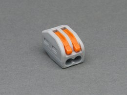 Snap-action 2-Wire Block Connector (12-28 AWG)