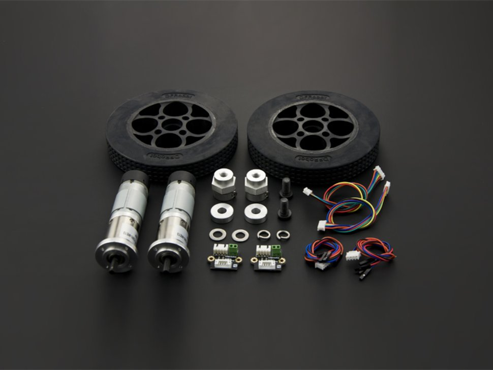Rubber wheel and motor kit 7708471845