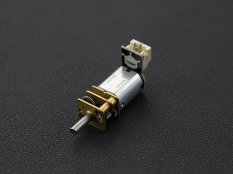 Micro Metal Gear Motor with Connector (50:1)
