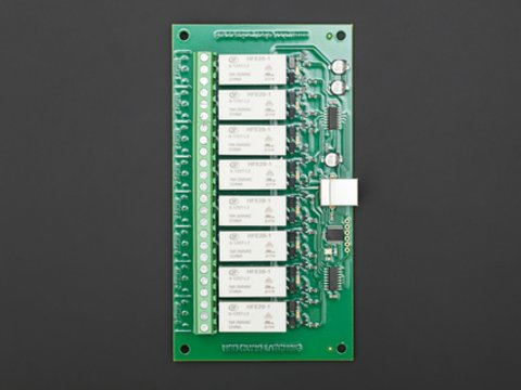 USB-RLY16L(16 Low Power 8 channel relay outputs at 16A)