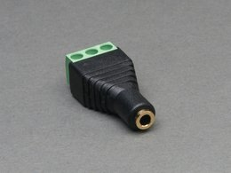 3.5mm Stereo Audio Jack Terminal Block