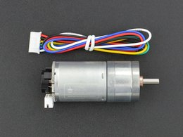 Metal dc geared motor w slash encoder 6v 300 6630977180