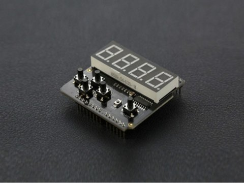 7 Segment LED Keypad Shield For Arduino