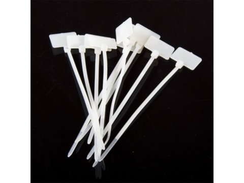 Nylon Cable Tie Set - With Tag (10pcs)