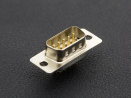 Db9 female connector for rs232 slash rs422 slash rs4 7301224225