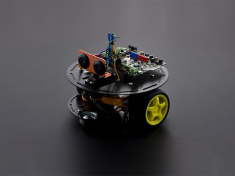 Turtle Kit: A 2WD DIY Arduino Robotics Kit For Beginner